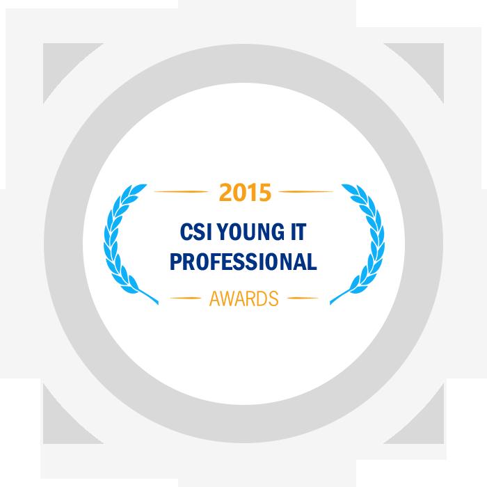 CSI Young IT Professional Award 2015