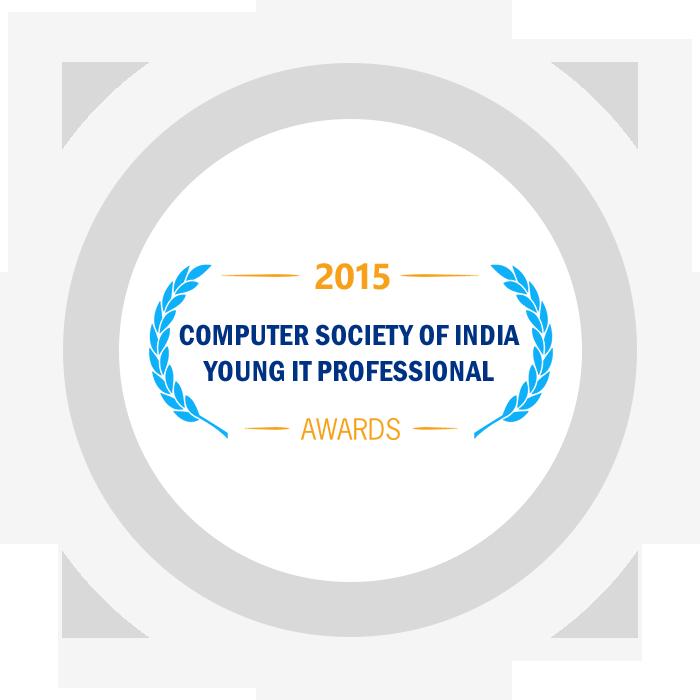 Computer Society of India Young IT Professional (YITP) Awards 2015