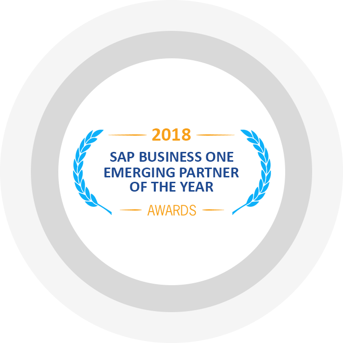 SAP Business One Emerging Partner Of The Year 2018