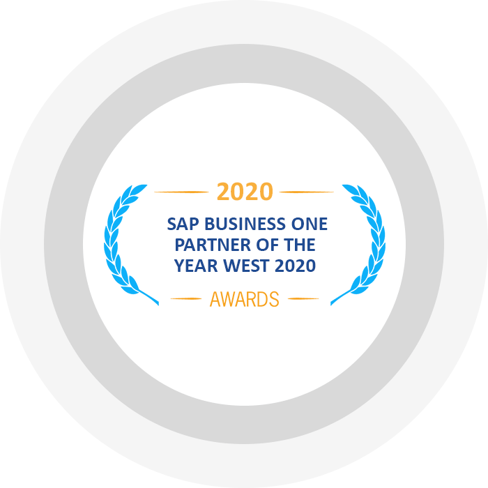 Partner of the Year West 2020 By SAP Leadership